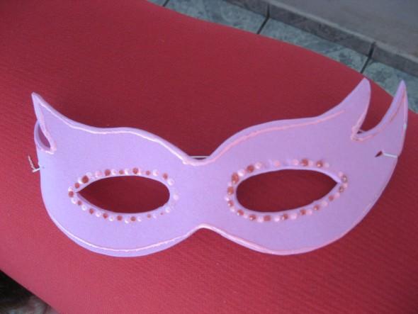 Máscara de carnaval em EVA 002