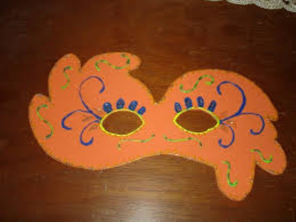 Máscara de carnaval em EVA 003