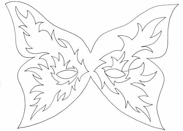 Moldes de máscara em EVA 006