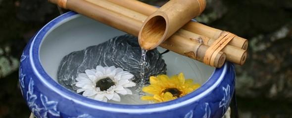 Artesanato com bambu 002