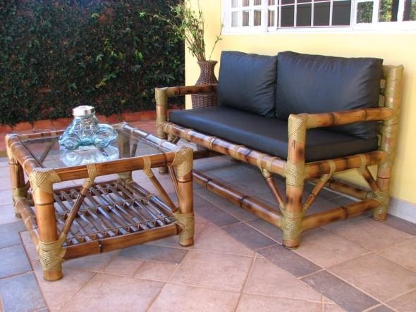 Artesanato com bambu 007