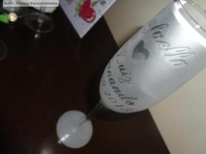 Como fazer falso jateado em vidro 001