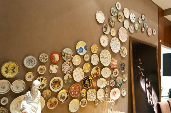 Como pintar pratos decorativos 007
