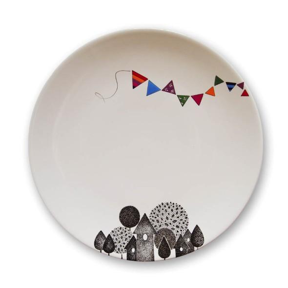 Como pintar pratos decorativos 010