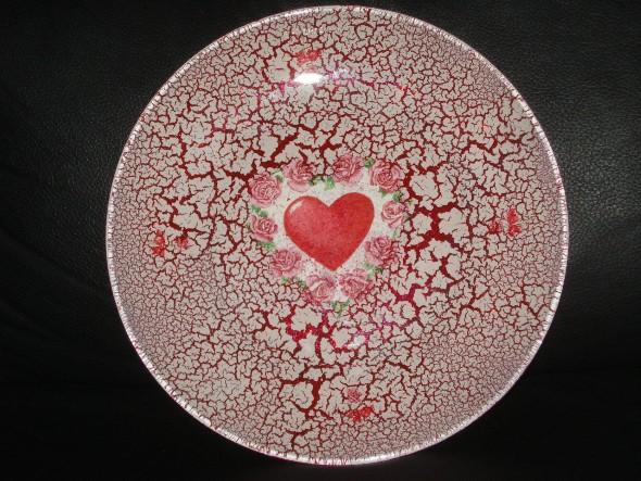 Como pintar pratos decorativos 011