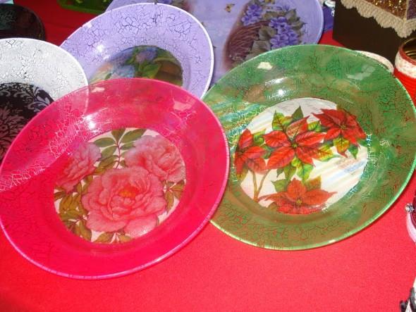 Como pintar pratos decorativos 012
