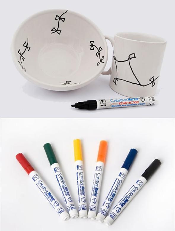 Como pintar pratos decorativos 014