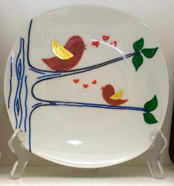Como pintar pratos decorativos 015