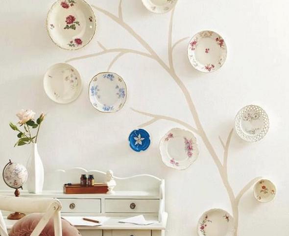 Como pintar pratos decorativos 04