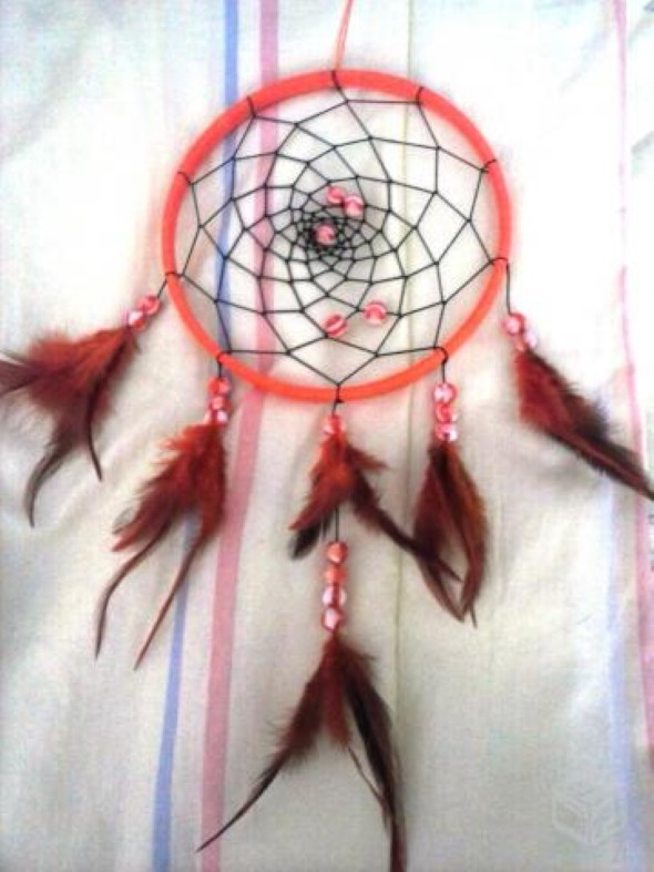 Filtro dos sonhos artesanal 004