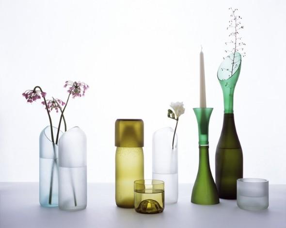 Garrafas de vidro no artesanato 009
