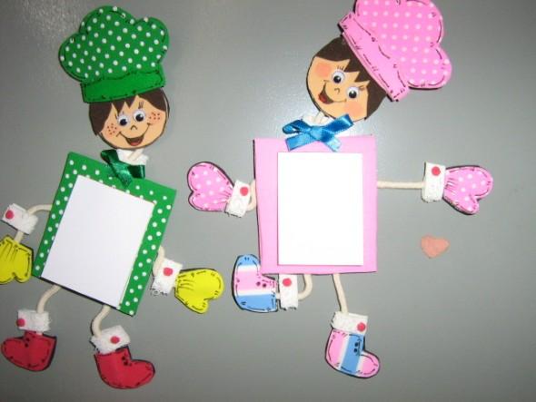 Idéias criativas de artesanato em EVA 003