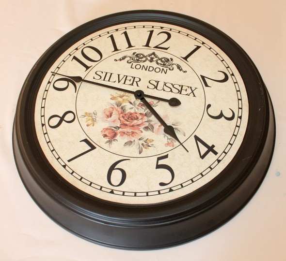 Como fazer relógio artesanal 002