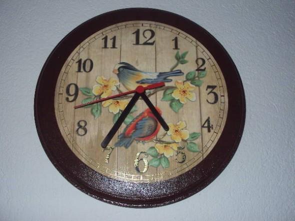 Como fazer relógio artesanal 012