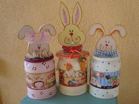 Enfeites de páscoa artesanais 010