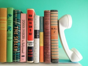 Porta livros artesanal 001