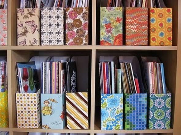 Porta livros artesanal 005