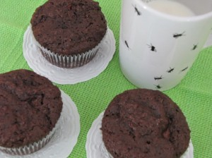 Receita de muffin de chocolate 001
