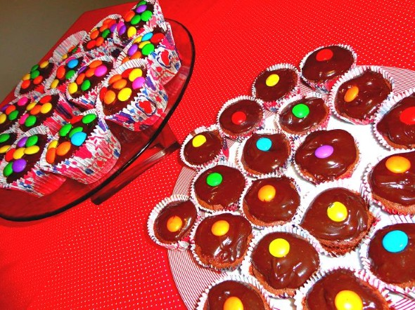 Receita de muffin de chocolate 003