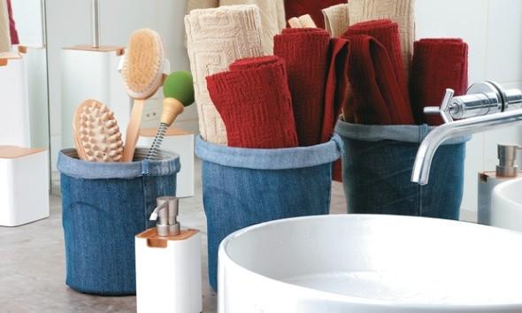 Artesanato com jeans usado 008