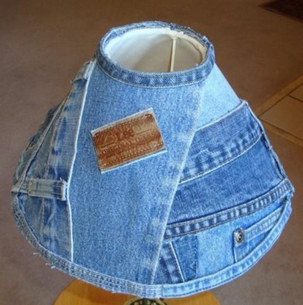 Artesanato com jeans usado 011