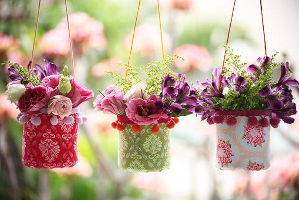 Objetos artesanais na varanda 013
