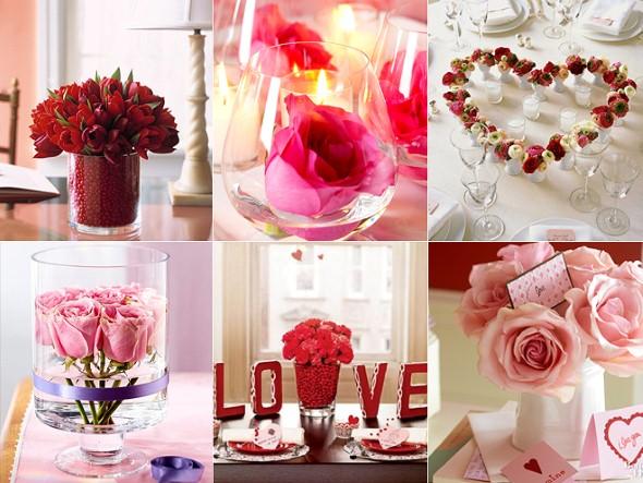 Arranjos florais para o dia dos namorados 009