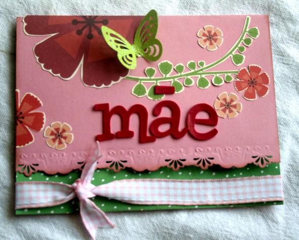 Cartão artesanal para o Dia das Mães 002