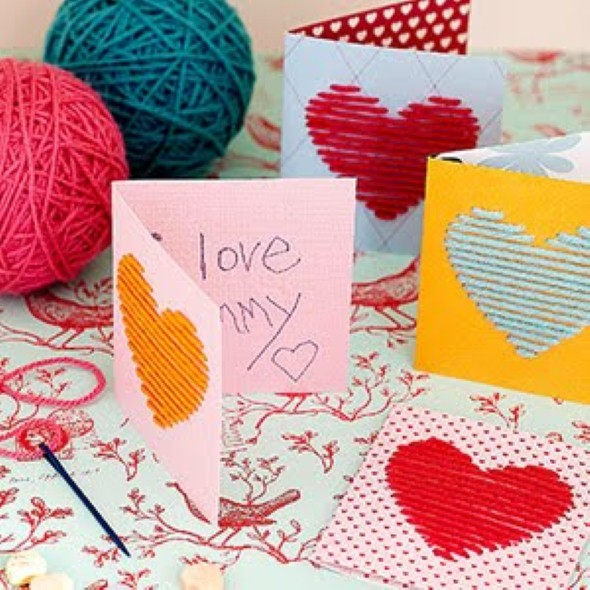 Cartão artesanal para o Dia das Mães 005