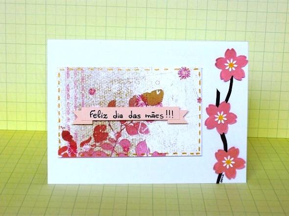Cartão artesanal para o Dia das Mães 007