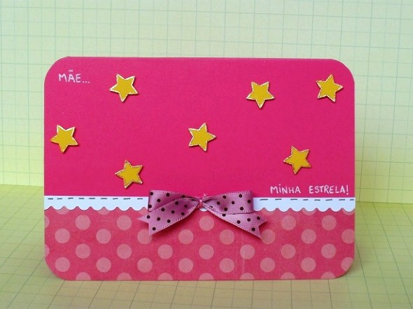 Cartão artesanal para o Dia das Mães 008