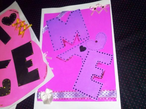 Cartão artesanal para o Dia das Mães 012