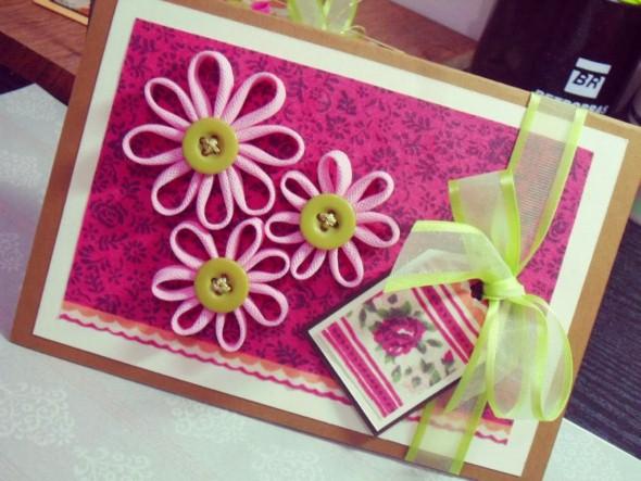 Cartão artesanal para o Dia das Mães 013