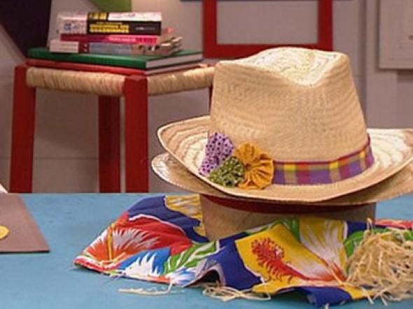 Como decorar chapéu de palha para Festa Junina 004