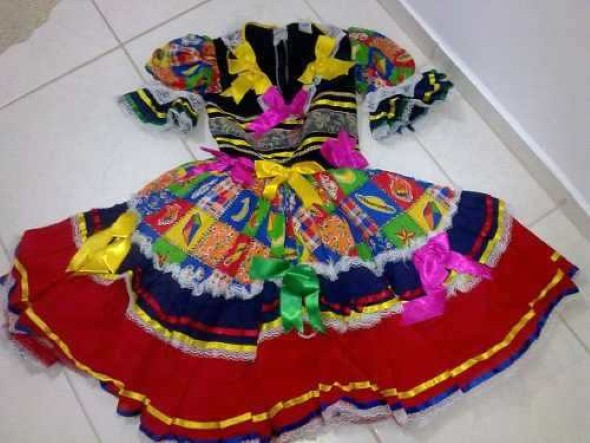 Customizar roupa para as Festas Juninas 003