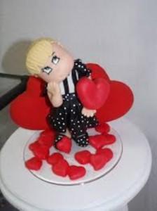 Lembrancinha do Dia dos Namorados em Biscuit 001