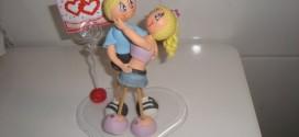 Lembrancinha do Dia dos Namorados em Biscuit