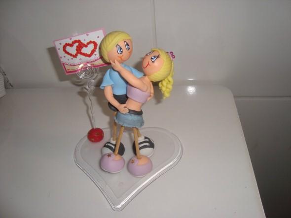 Lembrancinha do Dia dos Namorados em Biscuit 002