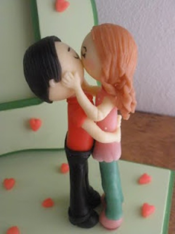 Lembrancinha do Dia dos Namorados em Biscuit 006