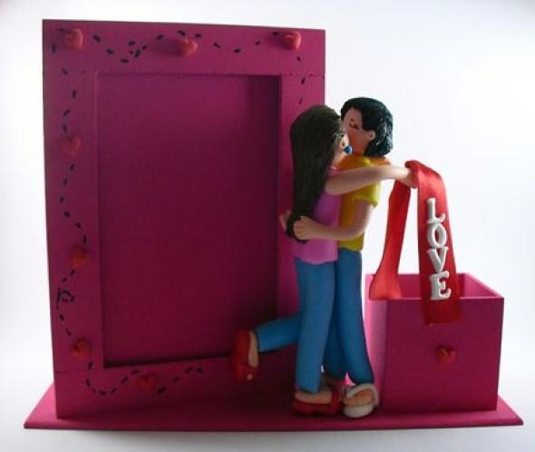 Lembrancinha do Dia dos Namorados em Biscuit 011