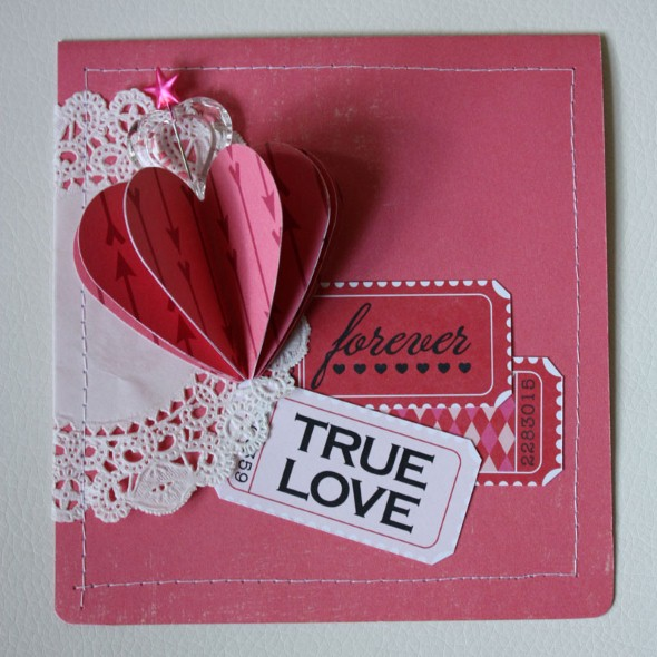 Cartão de scrapbook para o Dia dos Namorados 005