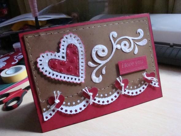 Cartão de scrapbook para o Dia dos Namorados 010