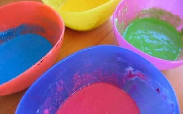 Como fazer tinta para crianças 002