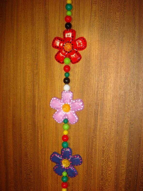Flores de garrafa PET 001