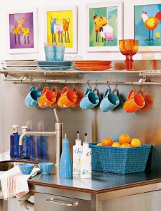 Artesanato criativo na cozinha 001