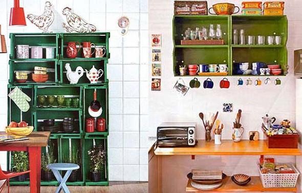 Artesanato criativo na cozinha 004
