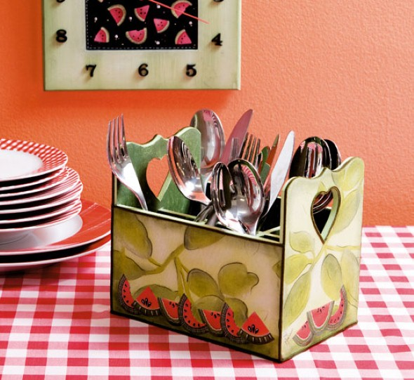 Artesanato criativo na cozinha 012