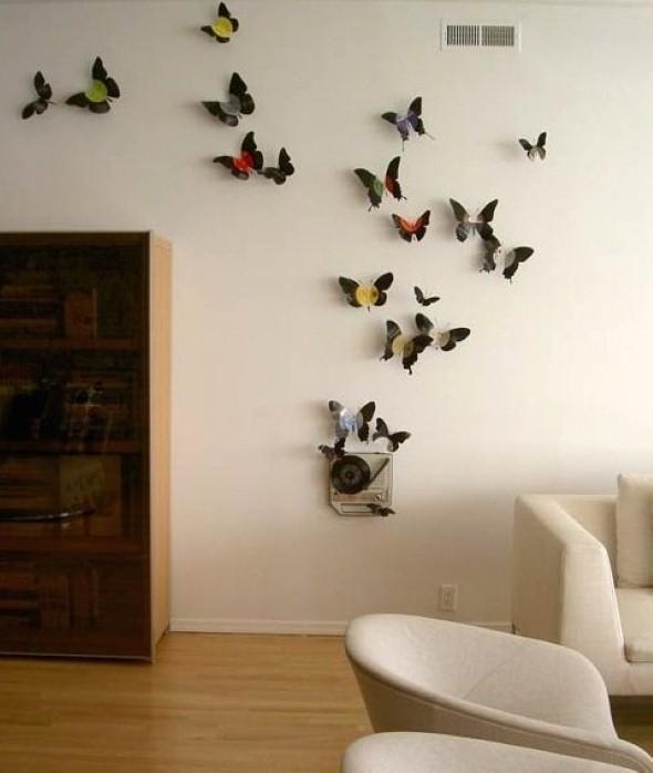 Como fazer enfeites de borboleta 008