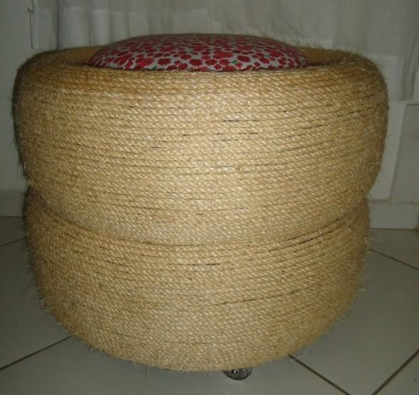 Puff artesanal 012