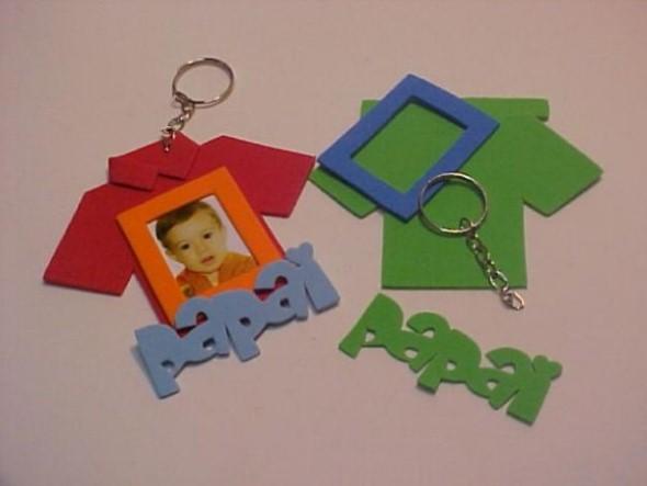 Chaveiro artesanal para o Dia dos Pais 005